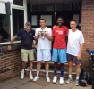 Finalists at the 2014 Men's Doubles Club Championship